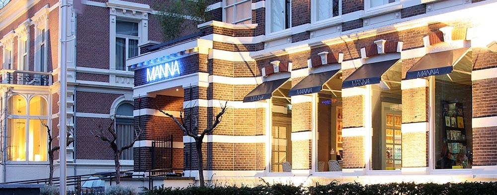 Hotel & Restaurant MANNA Nijmegen exterieur
