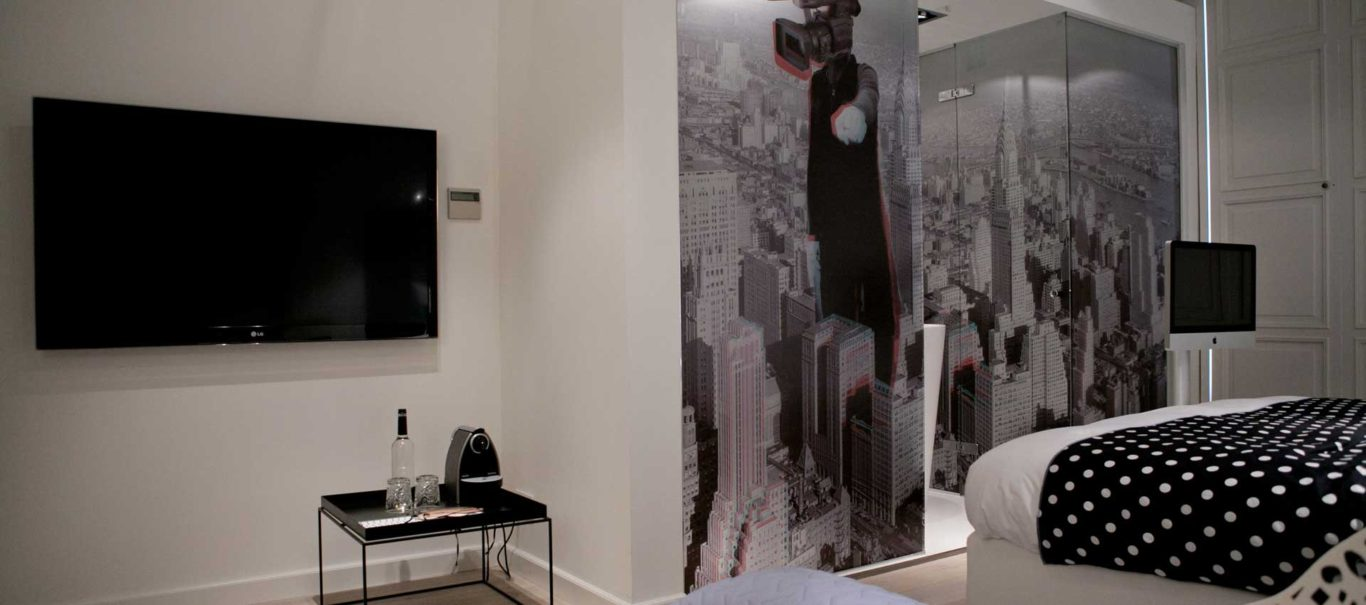 studio 08 cinefox hotel manna nijmegen design room